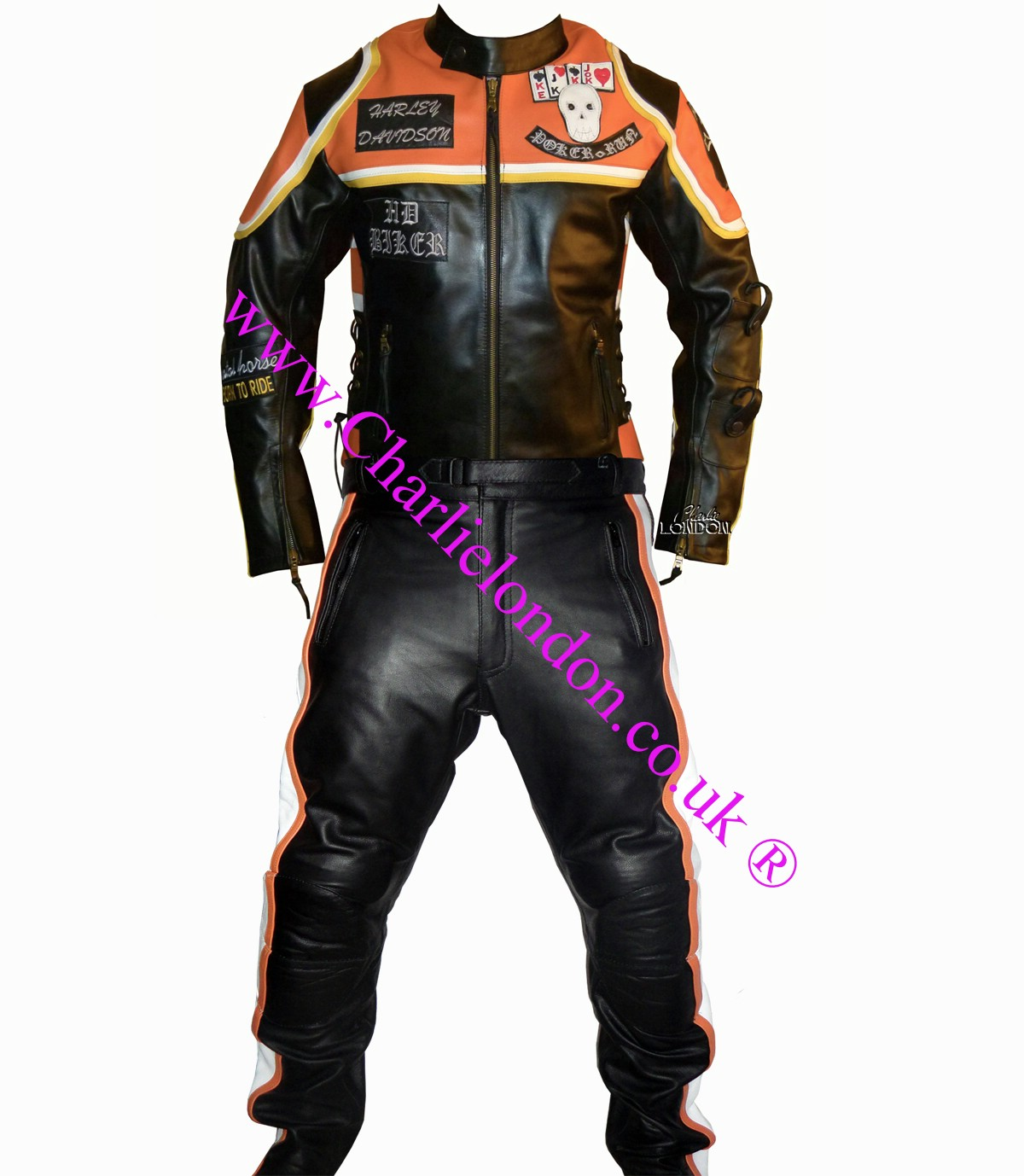 Harley Davidson Motorcycle Costumes Gloves