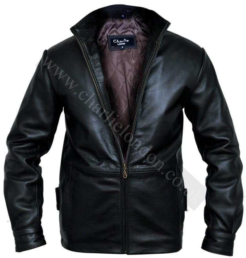 leather jacket london: