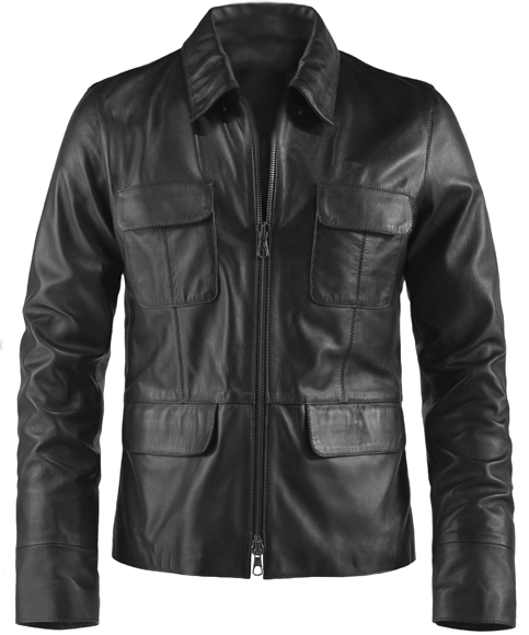 Damon Salvatore Leather Jacket