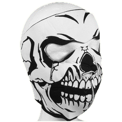 Full Skull Neoprene Face Mask