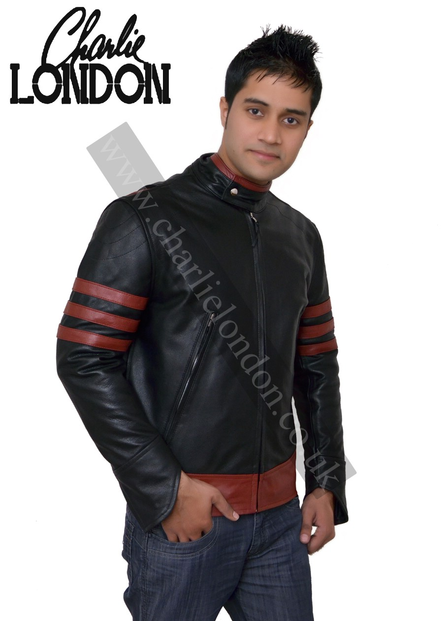 X Men Origins Wolverine Leather Jacket | Charlie London - Leather Jackets for Men and Women - FREE UK DELIVERY