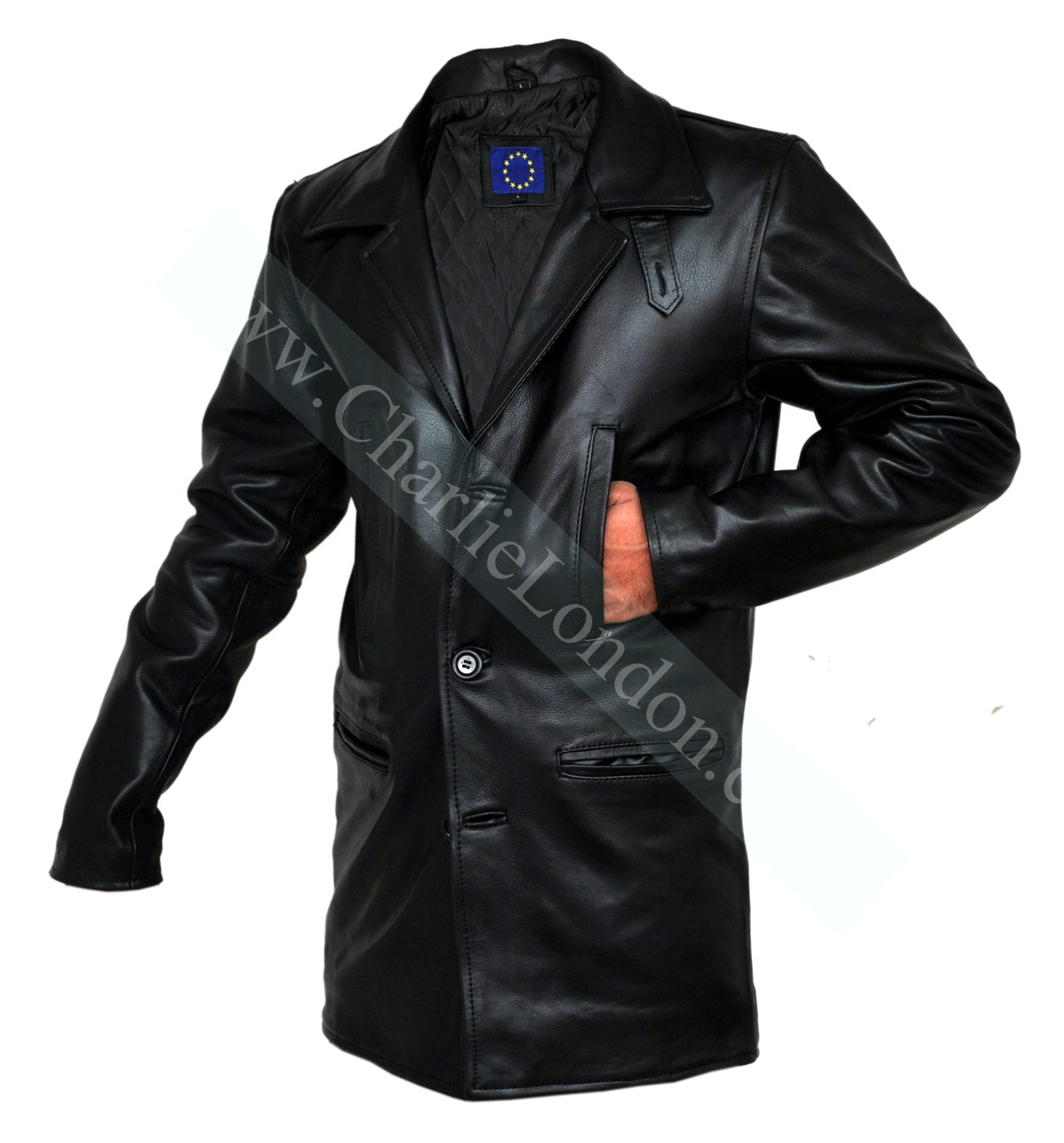 Max Payne Mark Wahlberg Leather Jacket