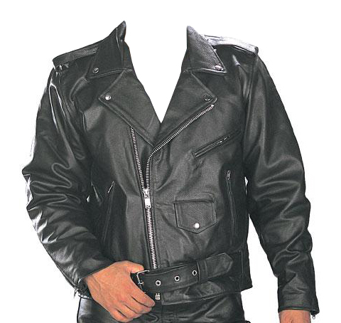 Classic Men's TOP GRADE Biker Motorcycle Jacket