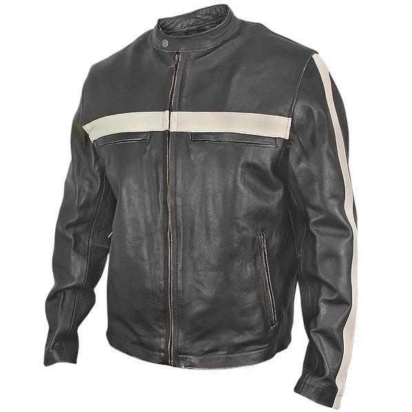 Motor bike leather jackets