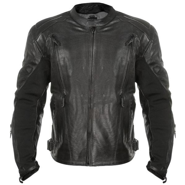 Advanced Armored Padded Men's Black Motorcycle Jacket