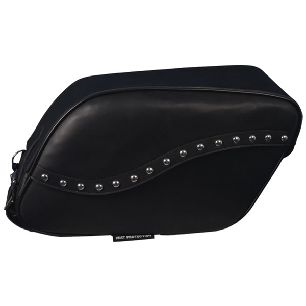 Large PVC Saddle Bag