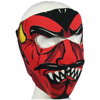 Neoprene Devil Face Mask