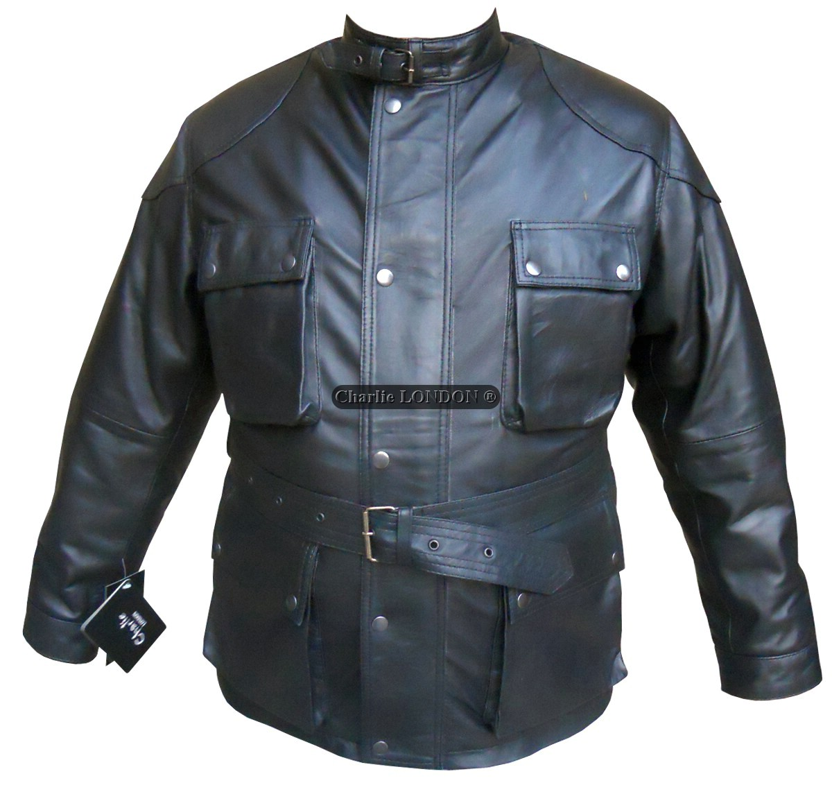 Charlie LONDON Thunder Leather Jacket