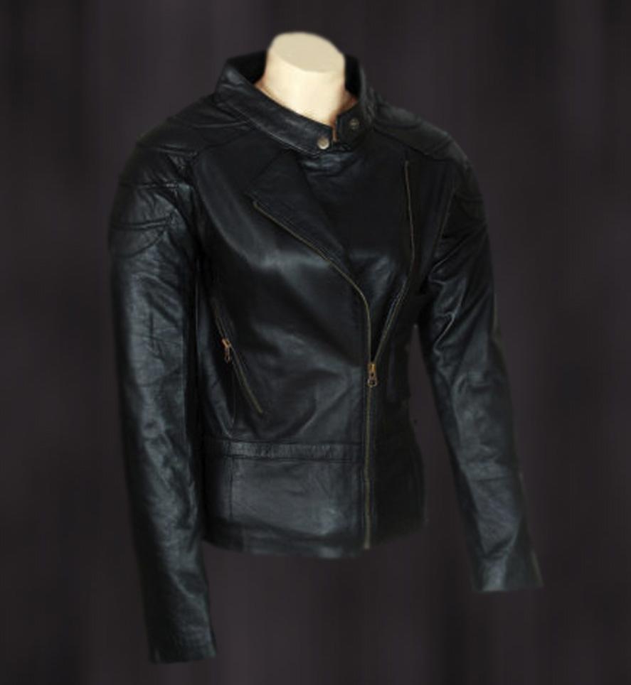 Angelina Jolie Wanted Leather Jacket