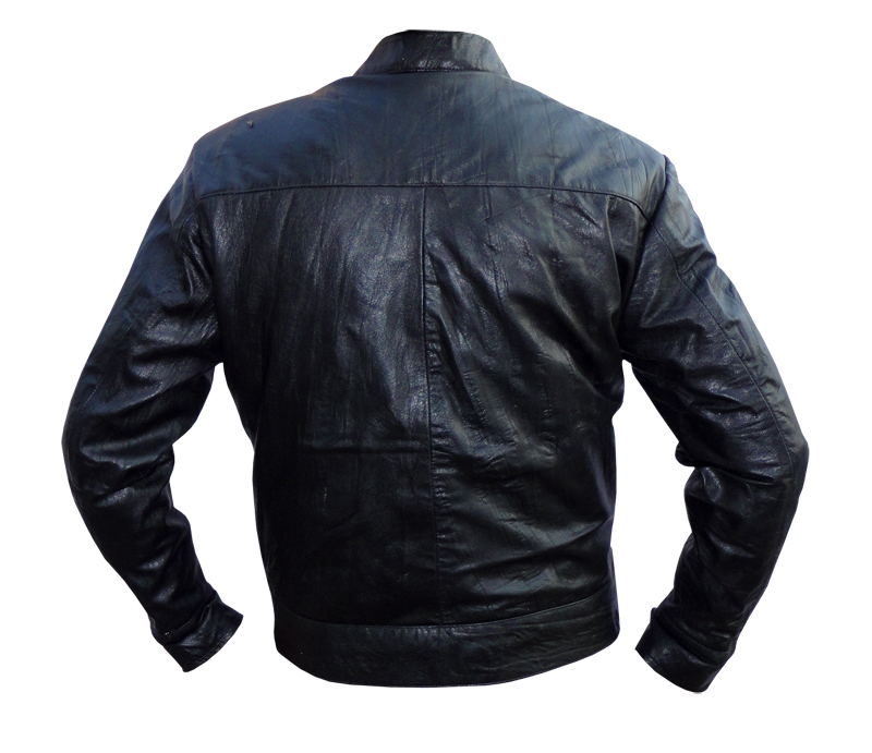 Home 17 Again OBLOW Zac Efron Black Leather Jacket