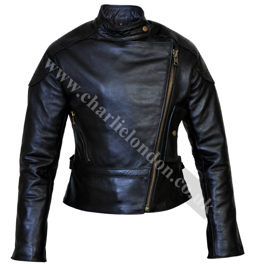 Angelina Jolie Wanted Leather Jacket