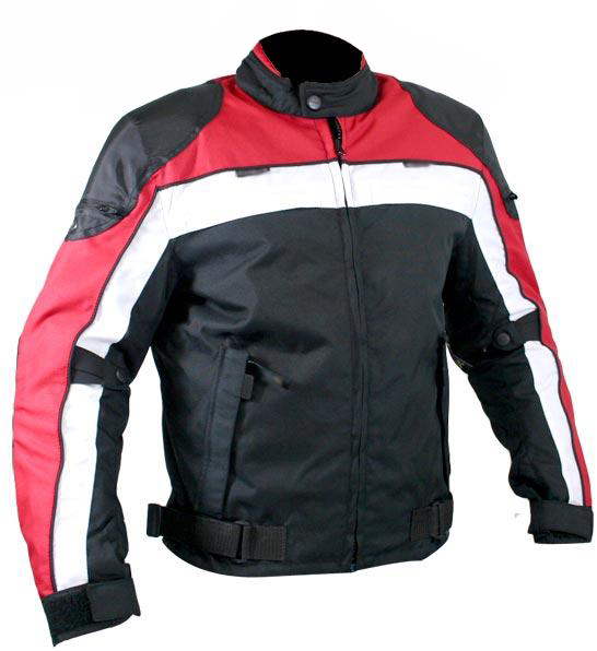 Men's Dragon Fabric Motorcycle Jacket