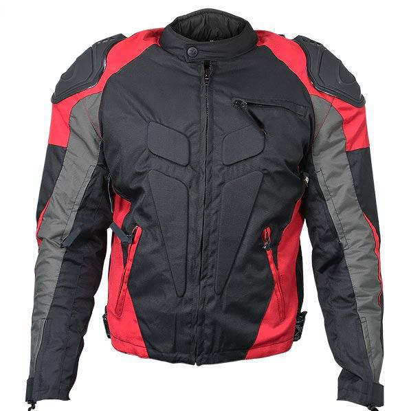 Men's Armored Race Motorcycle Jacket