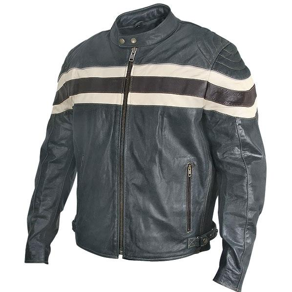 Charlie London Mens Racer Motorcycle Jacket