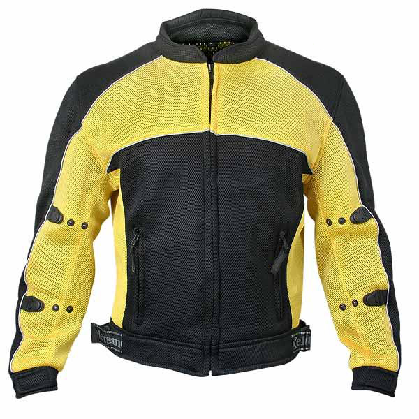 Men's Mesh Sports Armored Motorcycle Jacket