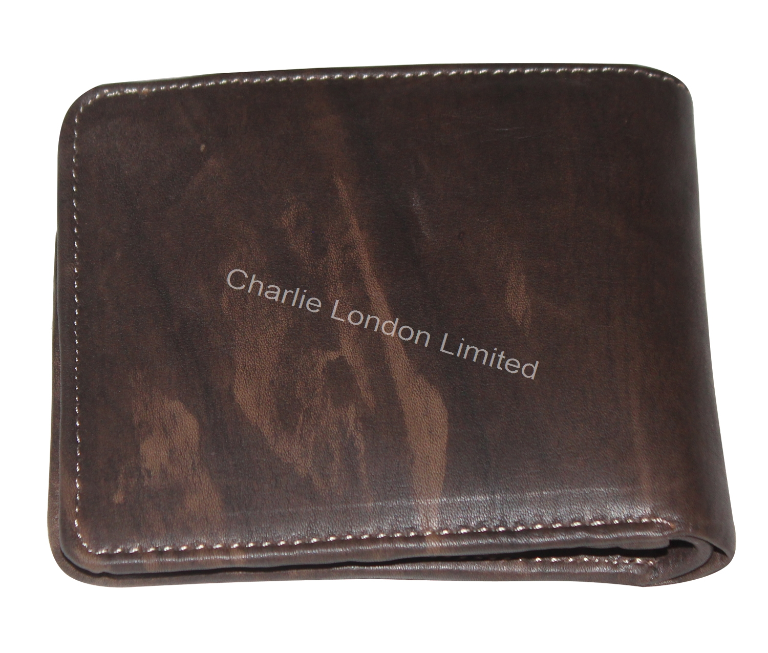 Men's Vintage Brown Bifold Genuine Leather Wallet
