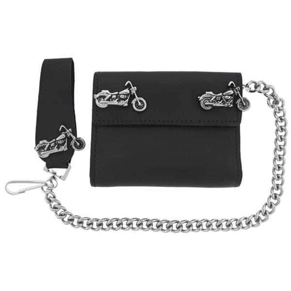 Motorcycle Medallion Wallet