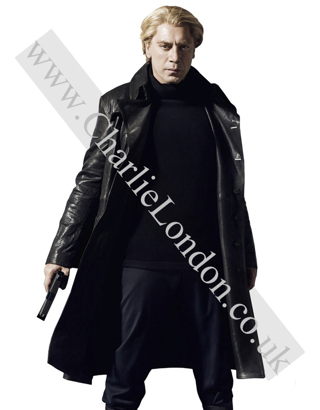 Ralph Fiennes Skyfall Long Coat Jacket
