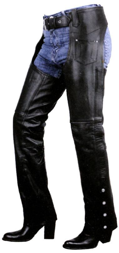 Women's Plain Low Cut Premium Riding Chaps