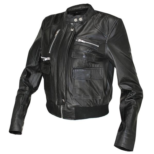bbfb5f23dd4 Ladies Collarless Fitted Lambskin Bomber Jacket | Charlie London - Leather  Jackets for Men and Women - FREE UK DELIVERY